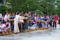 江戸時代からの庶民の知恵「打ち水」